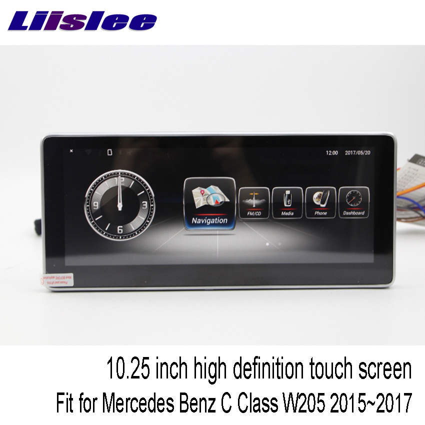 "Excellent Liislee 10.25"" Android For Mercedes Benz C Class"