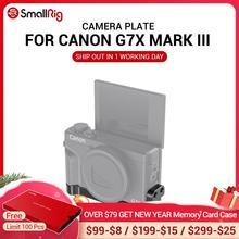 Монтажная пластина SmallRig G7X Mark III с двумя холодными ботинками для Canon G7X Mark III, прикрепляемая с микрофоном 2433