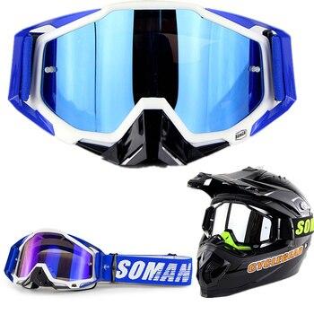 Capacetes Para Moto gafas Para Soman SM11 abatible hacia arriba Motor Casco...