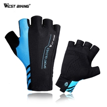 WEST BIKING Bike Bicycle Cycling Gloves For Road MTB Mountain Summer Gloves Bike Cycling Bicycle Goods Sports Half Finger mtb bicycle gloves hand protection mittens cycling bike half finger gloves for bicycle accessories sports gloves