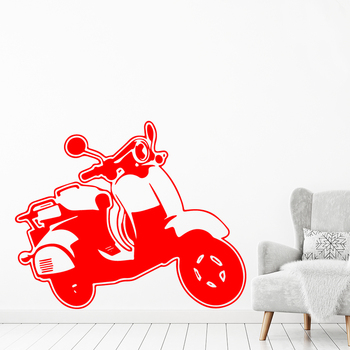 Carved Battery car Wall Art Sticker Modern Wall Decals Quotes Vinyls Stickers For Kids Rooms Nursery Room Decor Wall Decoration image