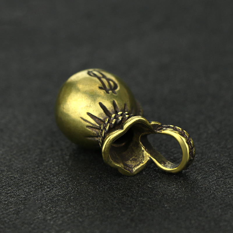 Lucky Money Bag Keychains Pendants (4)