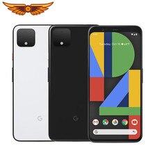 Google piksel 4 Octa çekirdek 5.7 inç 6GB RAM 64GB/128GB ROM 16MP çift kamera LTE orijinal Unlocked cep telefonu Android Smartphone