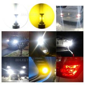 Image 5 - 2x1156 LED ampul BA15S BAY15D 1157 W21W 7440 7443 P21W S25 Canbus 6000K ters işık Back Up kuyruk lambası dönüş sinyali fren lambası