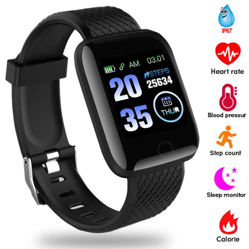 2020 Smart Watch Women Men Smartwatch For Apple IOS Android Electronics Smart Fitness Tracker With Silicone Strap Sport Watches 1