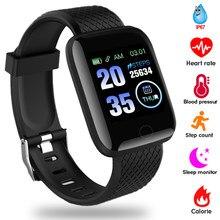 2020 Smart Uhr Frauen Männer Smartwatch Für Apple IOS Android Elektronik Smart Fitness Tracker Mit Silikon Strap Sport Uhren