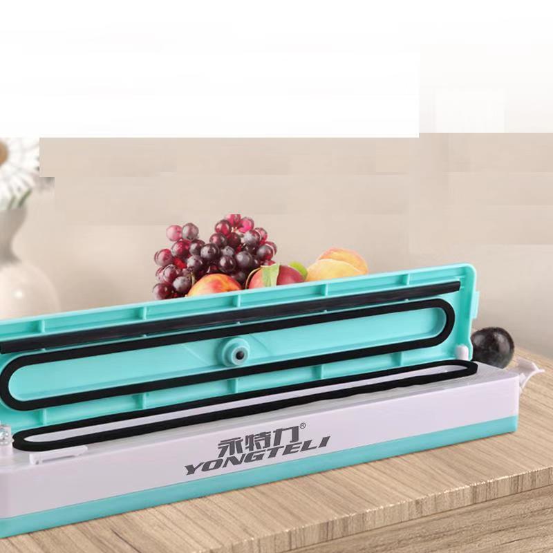 220V ménage alimentaire scelleur sous vide Machine d'emballage Film scelleur sous vide emballage comprenant 10 pièces sacs