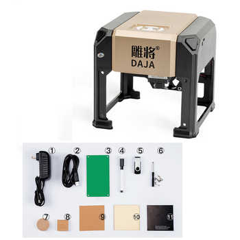 3000mw Mini Laser Engraving Machine Small Portable Marking Lettering DIY Logo Mark Printer Electric Wood Carving Machine - DISCOUNT ITEM  8 OFF Tools