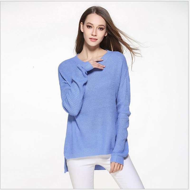 High Quality Trui Women Winter Trui Solid Used Trui Top For Women Retrieve Female Trui Pull Female Sueter Mujerk318