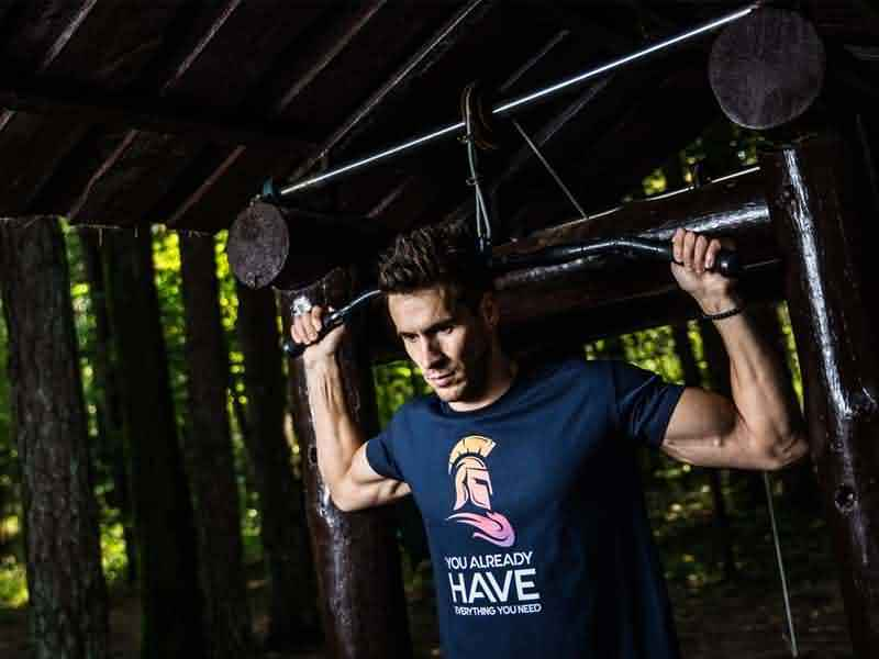 Pull ups fitness bodybuilding
