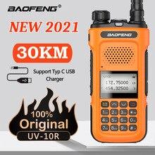 Walkie-Talkie 136-174 Dual-Band Fcc-Radio Baofeng uv-10r Usb-Charger 400-520mhz Max-Power