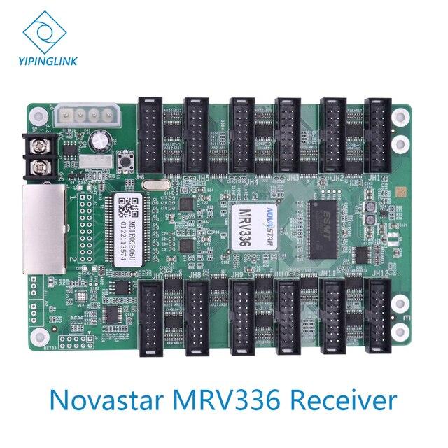 Novastar MRV336 تلقي بطاقة عالية تحديث الفيديو الجدار شاشة led نظام التحكم المراقب المالي