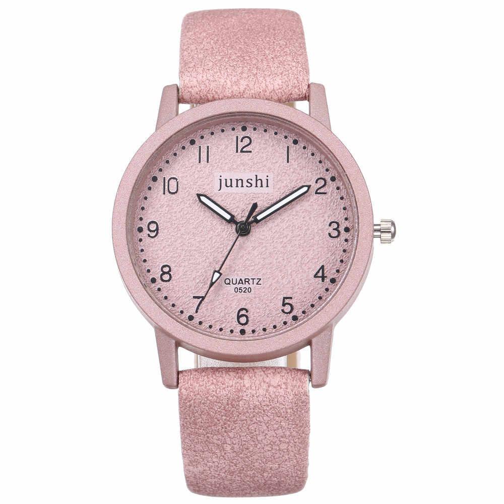 Jam Tangan Wanita 2019 Reloj Mujer Kuarsa Watch Wanita High-End Kaca Biru Hidup Tahan Air Dibedakan Wanita Bayan Kol saati