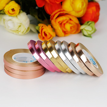 5pcs/lot 10m Rose Gold Foil Balloon Laser Ribbons Balloon Strings DIY Event Party Supplies Birthday Party Wedding Decoration 5pcs pack balloon tassel 35cm paper tassel pull flower wedding party rose gold tassel decoration birthday arrangement wedding
