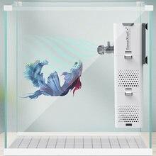 3 em 1 aquário filtro do tanque de peixes filtro para aquário bomba de ar aumento de oxigênio de ar aquário filtro interno bomba de aquário