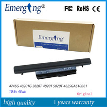 10.8V 48WH New Original AS10B61 Laptop Battery for Acer Aspire 3820T 3820TG 4820T 5820T AS5820 AS7745  AS10B6E AS10B7