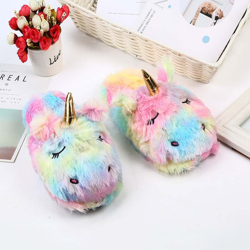 Winter lovely Home Slippers Chausson Shoes Women Flamingo slippers pantuflas new