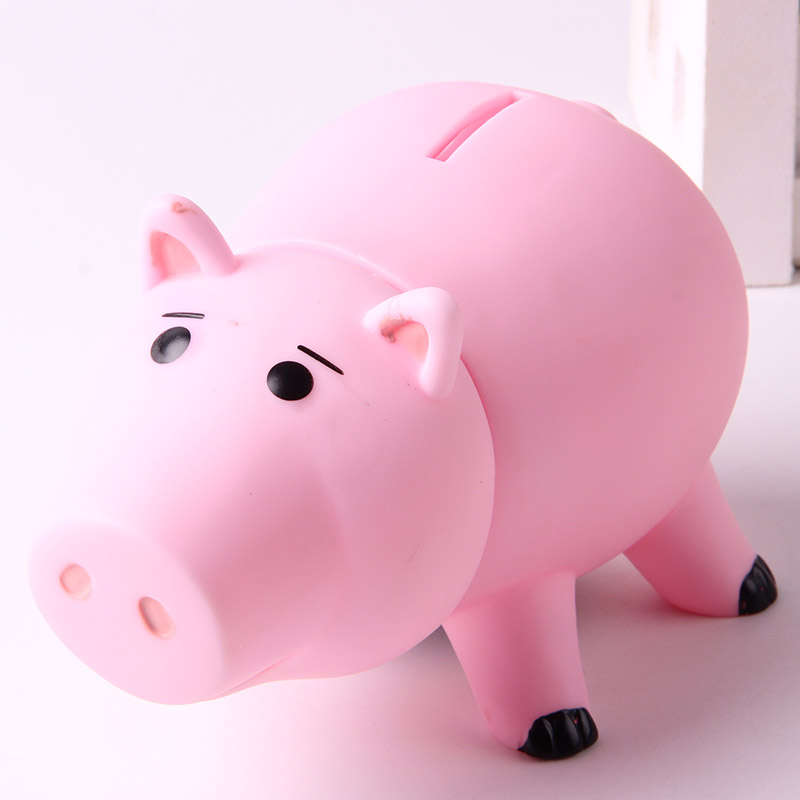 Story Figures Hamm Pig Coin Piggy Bank Money Saving Box Action Figure Collection Model S Toys