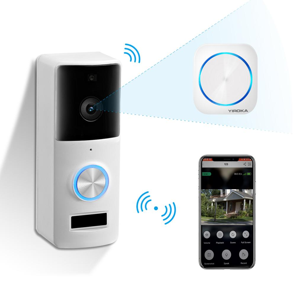 Wireless Smart WIFI Video Intercom Door Bell Door Phone With Night Vision For Home Security Remote Monitor Intercom