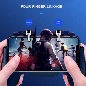 Image 5 - Pubg 컨트롤러 모바일 게임 게임 패드 쿨러 냉각 팬 화재 PUBG 모바일 게임 컨트롤러 게임 패드 조이스틱 금속 L1 R1 트리거