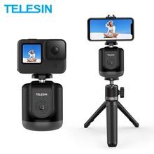 TELESIN تصوير ذكي Gimbal ، دوران 360 درجة ، تتبع تلقائي للوجه ، لكاميرا GoPro Osmo Action الذكية ، Vlog Live