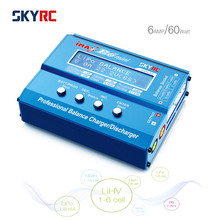 Original SKYRC IMAX B6 Mini 60W 6A RC Battery Balance Charger Discharger for 1-6s LiPo LiFe LiIon LiHv 1-15s NICD/NIMH 2-20V PB htrc h400 ac dc 400w 20a vertical battery balance charger discharger for 1 8s lilon lipo life lihv 1 20s nimh nicd battery