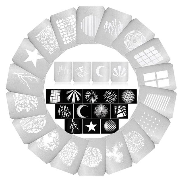 58 Stijl Diy Licht Buis Achtergrond Vorm Effect Film Led Condensatorbuis Projectie Film Grafische Insert Voor OT1 OT1 Pro