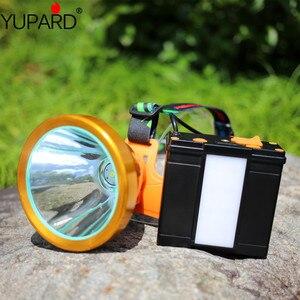 Lanterna led p50, alta potência recarregável, holofote, luz portátil, para acampamento
