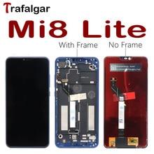 Trafalgar ekran için Xiaomi Mi 8 Lite LCD ekran Mi8 Lite dokunmatik ekran için Xiaomi Mi 8 Lite ekran çerçeve ekran yerine