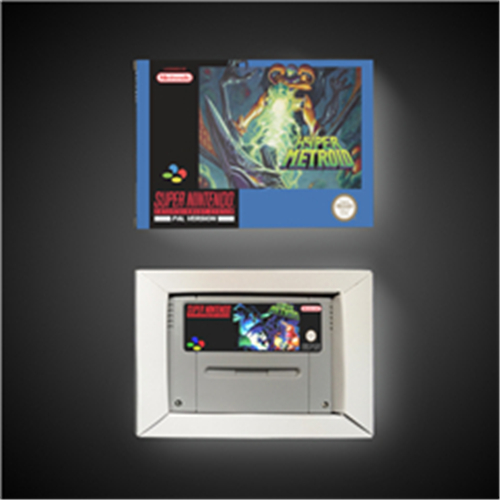 Super Metroided Hyper Version - EUR Version RPG Game Card Battery Save With Retail Box image
