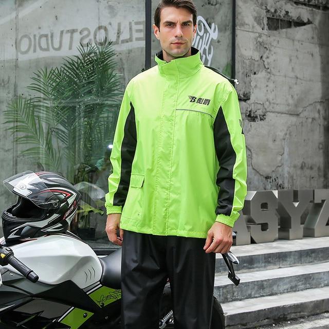 Nylon Rain Coat  4