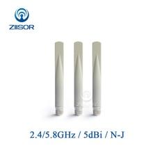 Antenne double bande 2.4G 5.8G antenne Wifi Extender Omni haut Gain N mâle routeur antennes amplificateur de Signal
