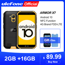 Ulefone Armor X7 16GB 2GB GSM/LTE/WCDMA NFC Quad Core Face Recognition 13mp New Waterproof
