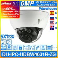 داهوا IPC HDBW4631R ZS 6MP IP كاميرا CCTV POE بمحركات التركيز التكبير 50 متر IR SD فتحة للبطاقات الأمن كاميرا شبكة مراقبة H.265 IK10