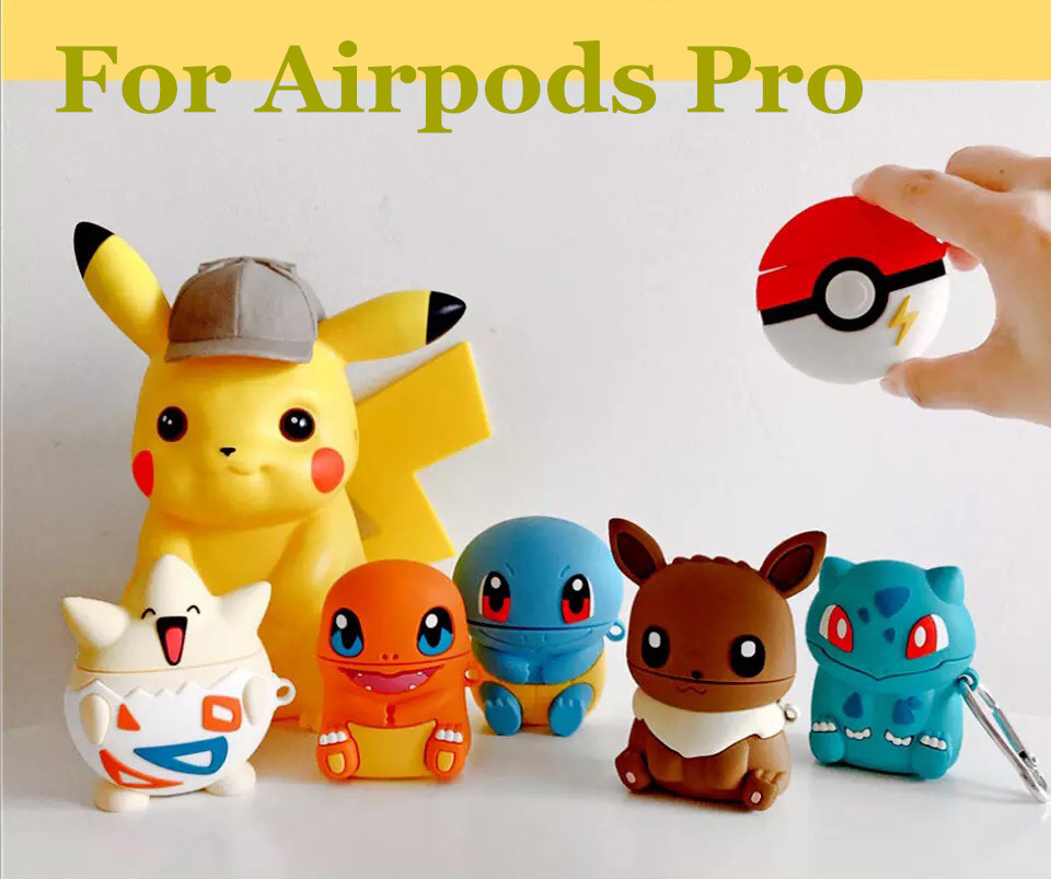 3D Soft Silicone Case for AirPods Pro 1