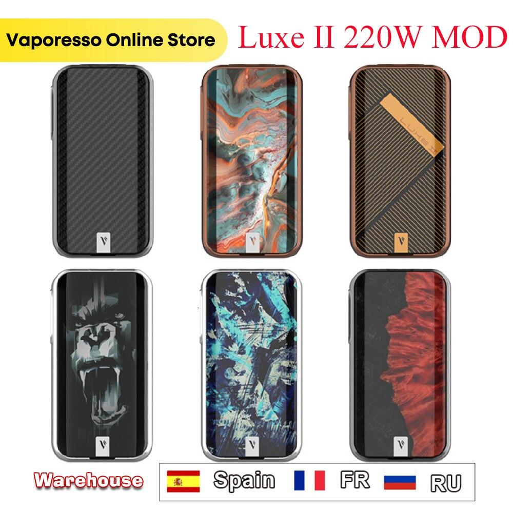 Оригинальный Vaporesso Luxe II MOD 220 Вт макс. выход 2,0 ''TFT цветной экран электронная сигарета Vape Mod Luxe 2 MOD VS Gen S/Swag 2
