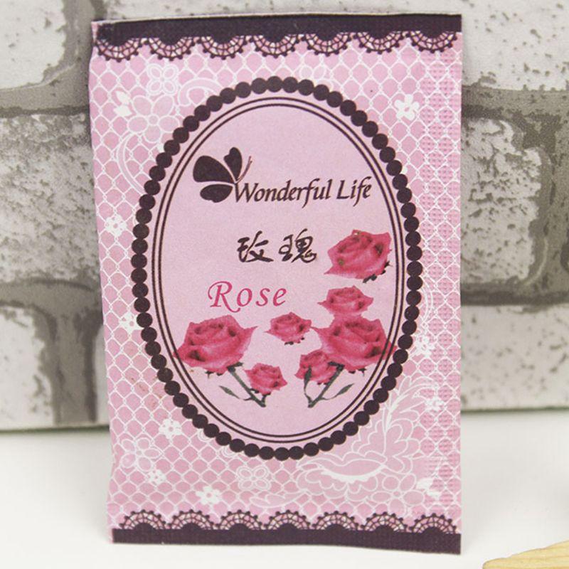 6x9cm 6x9cm Home Fragrance Sachet Bag Natural Grain Scented Wardrobe Deodorant Air Freshener Colorful Printed Package 12 Flavors