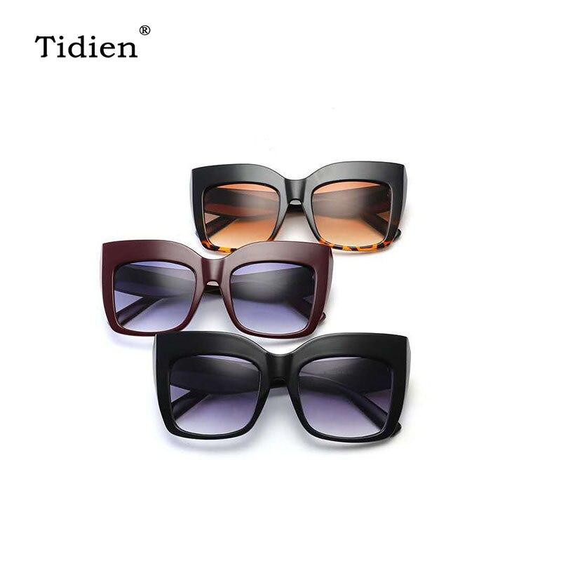 2019 Eyewear Retro Vintage Oversized Women Fashion Designer Sunglasses Glasses