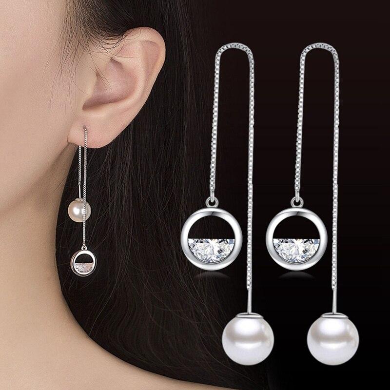 Bonnie Jewelry Luxury Water Drop Design Flower Pearl Earrings