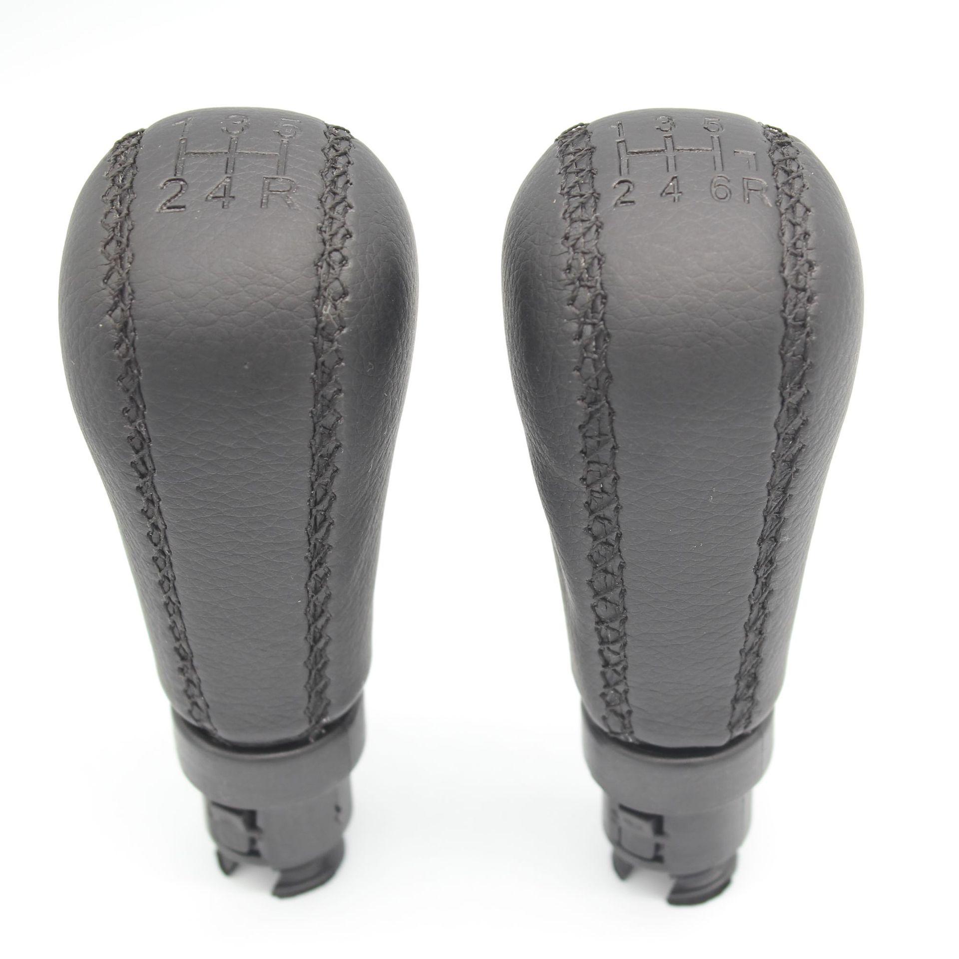Ручка переключения рулевого механизма автомобиля для Volvo S60 S80 V70 XC70 сшитая кожаная 5 / 6 ручной рычаг переключения передач гандбол