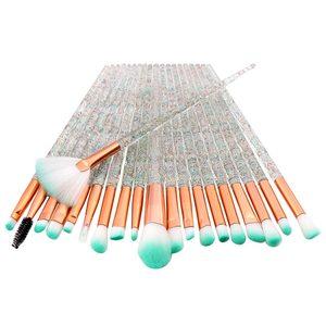 Image 4 - 20PCs Del Diamante di Trucco Pennelli Set Polvere Prodotti Di Base Blush, Fard Blending Ombretto Lip Cosmetic Beauty Make Up Brush Pincel Maquiagem