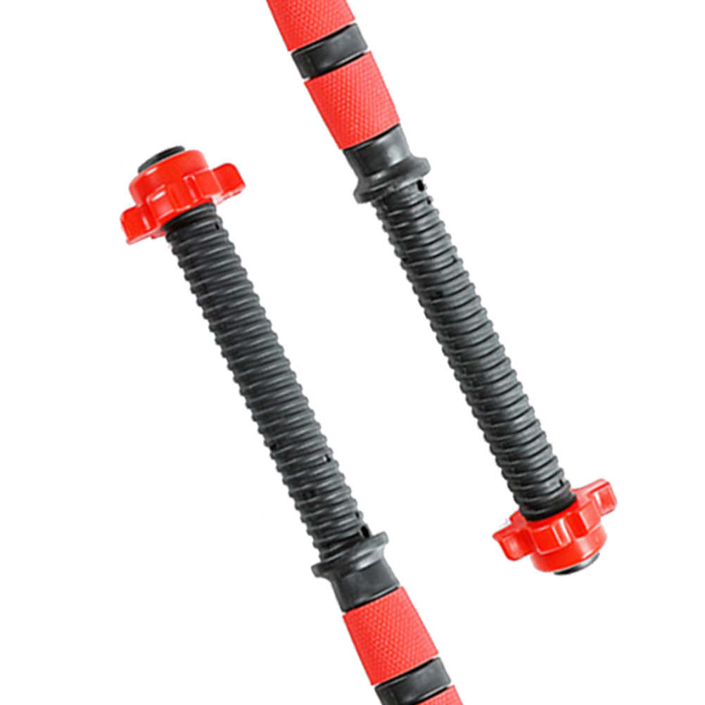 2pcs 40cm Dumbbell Bars Dumbbell Handles Weight Lifting Bar Strength Training