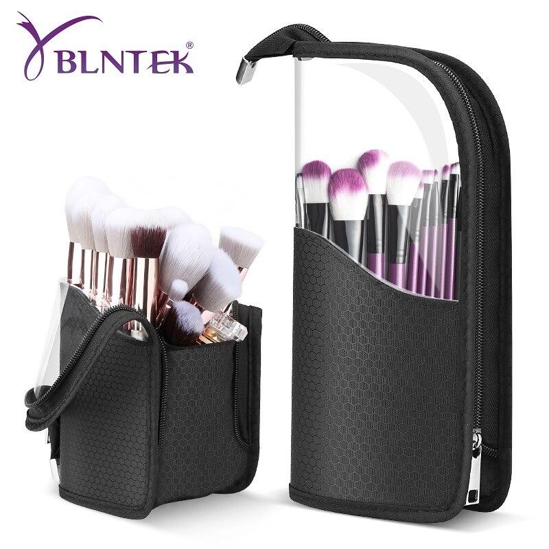 yblntek capa de pincel de maquiagem suporte a prova d agua para pincel organizador para cosmeticos