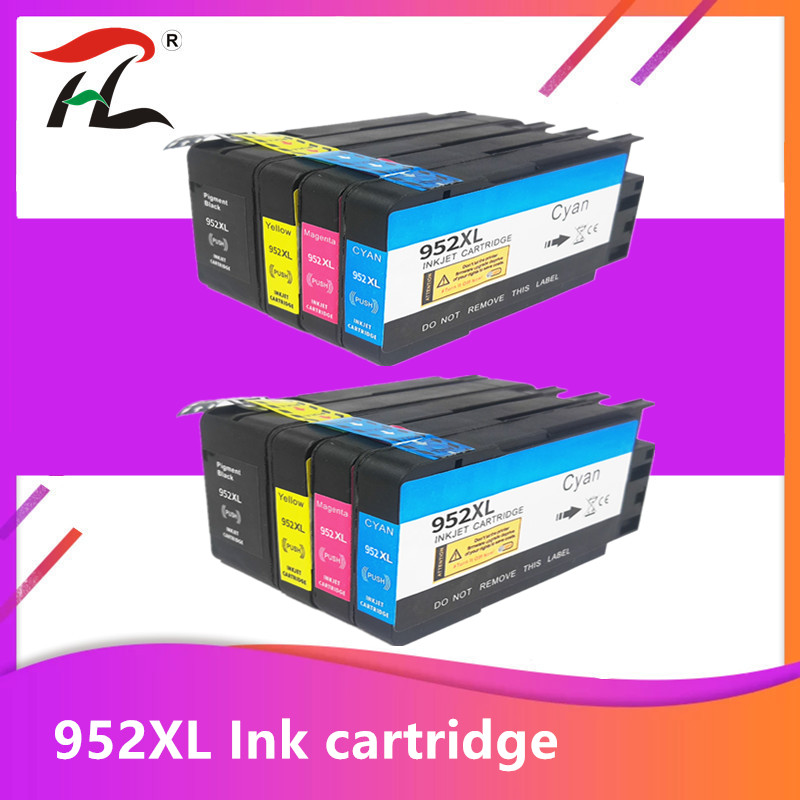 <font><b>952XL</b></font> Ink Cartridge for HP 952 For Officejet Pro 7740 8210 8218 8710 8715 8718 8719 8720 8725 8728 8730 8740 Printer Cartridges image