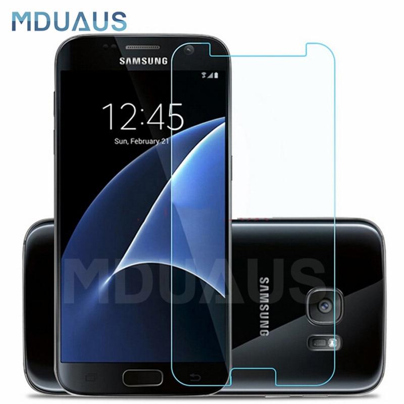 9H 0,22mm Schutz Glas auf die Für Samsung Galaxy S7 S6 S5 S4 S3 mini Note 5 4 3 ausgeglichenes Glas-schirm-schutz Film Fall