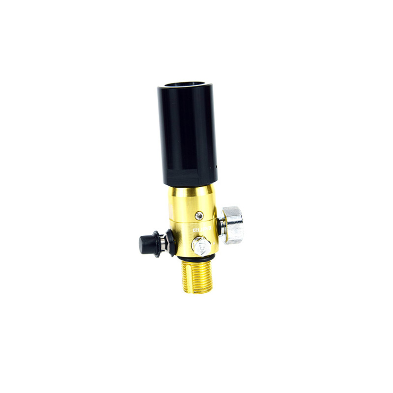 PCP Airforce Condor To Paintball Tank Adapter Converter 4500psi Inlet M18 G1/2 Female Black