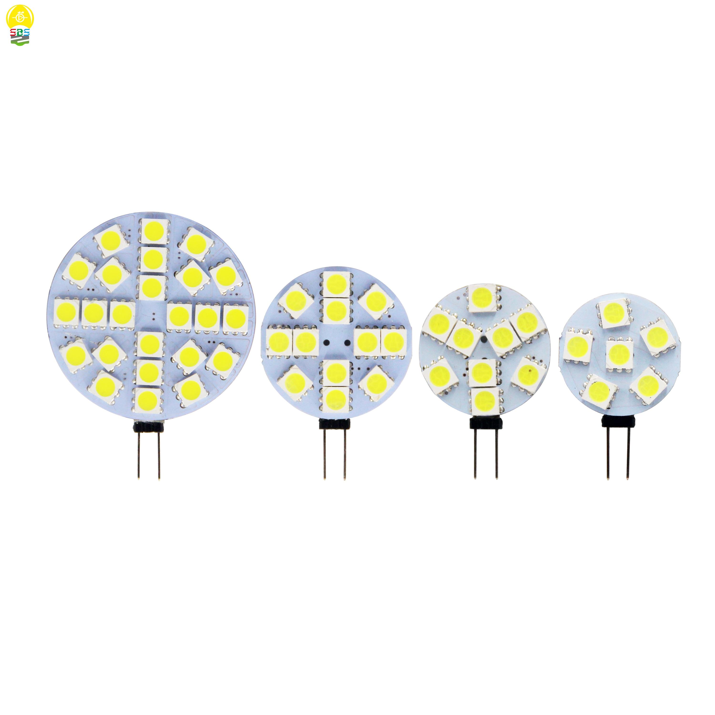 Wholesale 1W To 5W G4 LED 5050 SMD 180 Degree White Marine Camper RV Led Light Lamp Bulb DC 12V 6/9/12/24 Leds Free Shipping