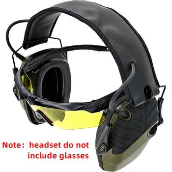 Elektronische schießen ohrenschützer anti-lärm verstärkung taktik jagd gehörschutz kopfhörer sightlines schwamm ohr pads