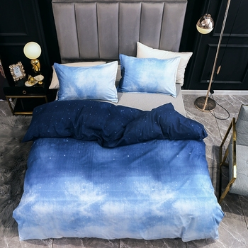 Duvet Cover And Pillow Case Sky View