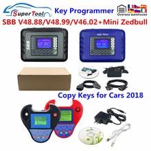 Super Mini Zed Bull V508  Key Clone Machine Smart ZedBull Key Programmer Transponder Zed-Bull Car Auto Key Cloner No Taken Limit